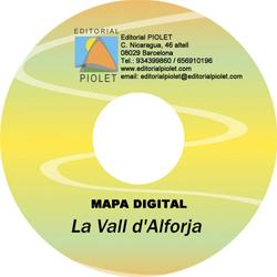 VALL D'ALFORJA, LA 1:15.000 [CD-ROM] CARTOGRAFIA DIGITAL GPS -PIOLET