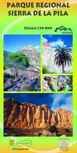 SIERRA DE LA PILA 1:20.000 - PARQUE REGIONAL -PIOLET