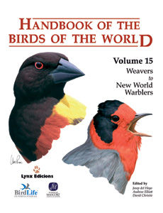 V.15 HANDBOOK OF THE BIRDS OF THE WORLD