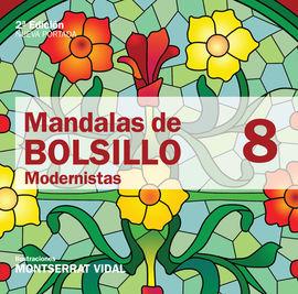 8. MANDALAS DE BOLSILLO -MODERNISTAS