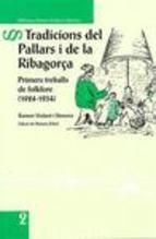 TRADICIONS DEL PALLARS I DE LA RIBAGORÇA.