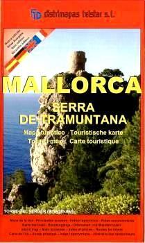 MALLORCA - SERRA DE TRAMUNTANA [1:40.000] -TELSTAR