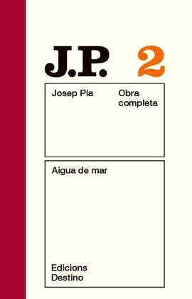 O.C.J.PLA 2 AIGUA DE MAR