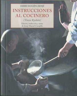 INSTRUCCIONES AL COCINERO