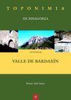 9. VALLE DE BARDAXIN -TOPONIMIA DE RIBAGORZA