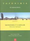 MONESMA Y CAJIGAR -TOPONIMIA DE RIBAGORZA