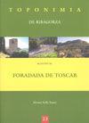 MUNICIPIO DE FORADADA DE TOSCAR -TOPONIMIA DE RIBAGORZA