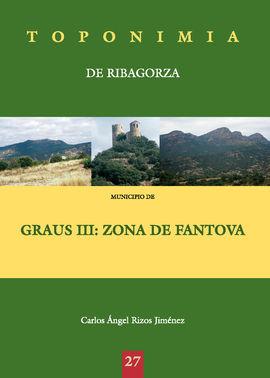 GRAUS III: ZONA DE FANTOVA -TOPONIMIA DE RIBAGORZA
