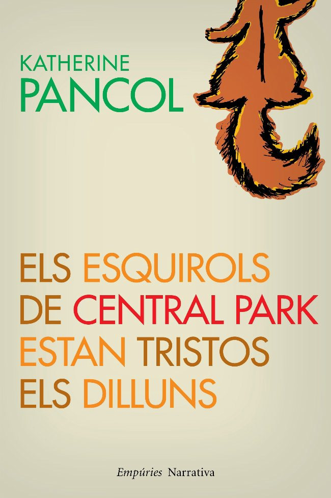 ESQUIROLS DE CENTRAL PARK ESTAN TRISTOS ELS DILLUNS, ELS