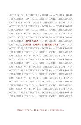 NOTES SOBRE LITERATURA