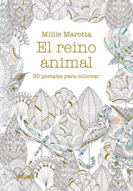 REINO ANIMAL, EL [CAJA] 30 POSTALES PARA COLOREAR