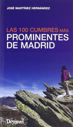 100 CUMBRES MAS PROMINENTES DE MADRID, LAS
