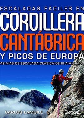 ESCALADAS FACILES EN CORDILLERA CANTABRICA Y PICOS DE EUROPA