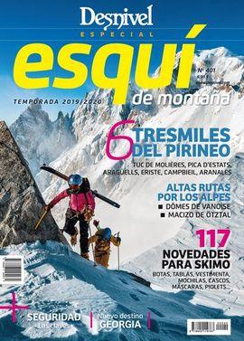 401 DESNIVEL. ESPECIAL ESQUÍ DE MONTAÑA -REVISTA