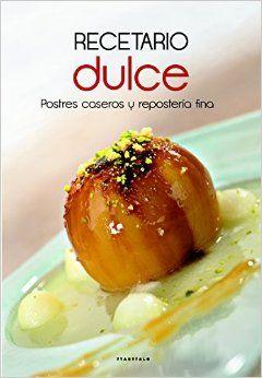 RECETARIO DULCE