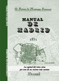 MANUAL DE MADRID (FACSÍMIL) 1831