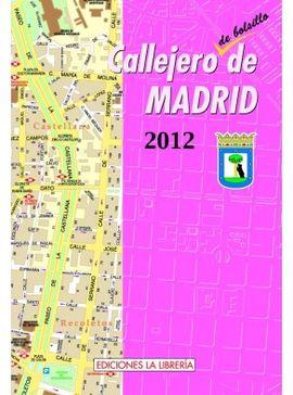 2012 CALLEJERO DE BOLSILLO DE MADRID