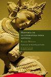 HISTORIA DE LA LITERATURA INDIA ANTIGUA
