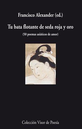 TU BATA FLOTANTE DE SEDA ROJA Y ORO