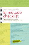 METODE CHECKLIST, EL