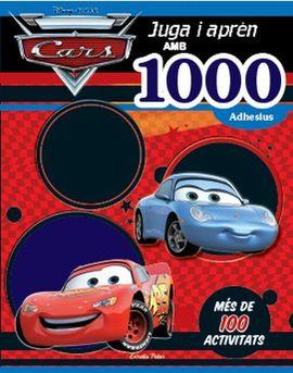 CARS. JUGA I APRÉN. AMB 1000 ADHESIUS!
