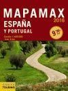 2016 MAPAMAX ESPA�A Y PORTUGAL 1:400.000 -ANAYA