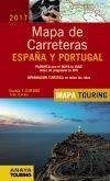 2017 MAPA DE CARRETERAS DE ESPAÑA Y PORTUGAL 1:340.000 -ANAYA