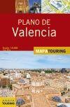 VALENCIA, PLANO DE 1:9.000 -MAPA TOURING ANAYA