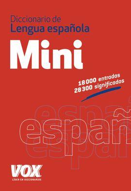 MINI VOX ESPA�OL. DICCIONARIO LENGUA ESPA�OLA