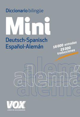 MINI. ESPAÑOL-ALEMAN .DICCIONARIO BILINGUE -VOX
