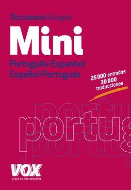 MINI PORTUGUES-ESPANHOL / ESPAÑOL-PORTUGUES. DICCIONARIO BILINGÜE -VOX