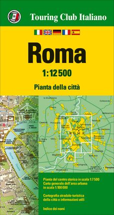 ROMA 1:12.500 -TOURING CLUB ITALIANO
