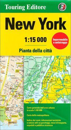 NEW YORK 1:15.000 -TOURING CLUB ITALIANO