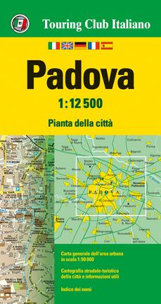 PADOVA 1:12.500 -TOURING CLUB ITALIANO