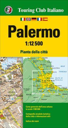 PALERMO 1:12.500 -TOURING CLUB ITALIANO