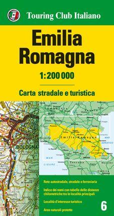 EMILIA-ROMAGNA 1:200.000 -TOURING CLUB ITALIANO