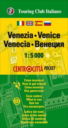 VENEZIA (VENECIA) 1:5.000 -CENTROCITTA POCKET -TOURING EDITORE