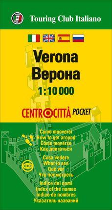 VERONA 1:10.000 -CENTROCITTA POCKET -TOURING EDITORE