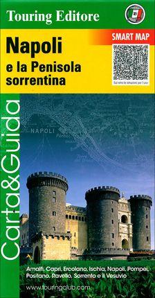 NAPOLI [NÁPOLES] E LA PENISOLA SORRENTINA 1:175.000 -TOURING EDITORE