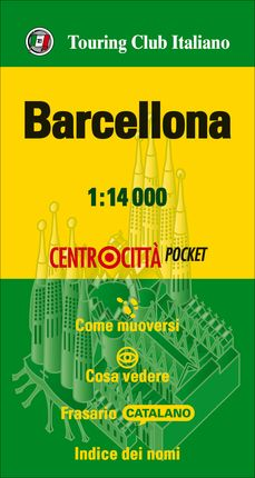 BARCELLONA 1:14.000 -TOURING CLUB ITALIANO