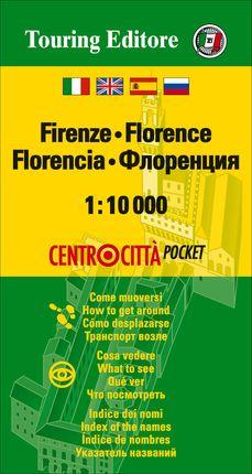 FLORENCIA 1:10.000 - TOURING CLUB ITALIANO