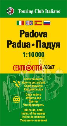 PADOVA (PADUA) 1:10.000 -TOURING CLUB ITALIANO