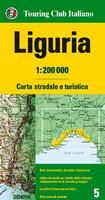 LIGURIA  1:200.000 -TOURING CLUB ITALIANO