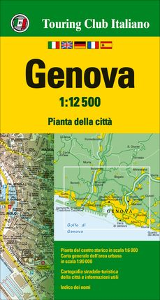 GENOVA 1:12.500 -TOURING CLUB ITALIANO