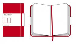 RED SKETCHBOOK L [13X21 EN BLANCO] BOCETOS LARGE CLASSIC -MOLESKINE