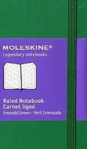 XSMALL PLAIN EMERALD GREEN [6,5X10,5][LISAS] -MOLESKINE