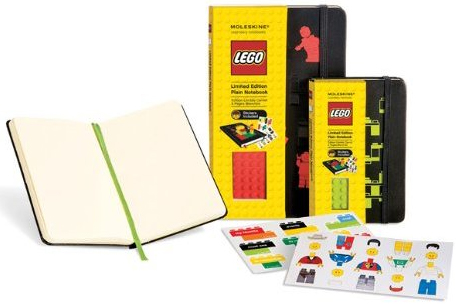 LEGO PLAIN [9X14] (LISAS) LIMITED EDITION NOTEBOOK -MOLESKINE
