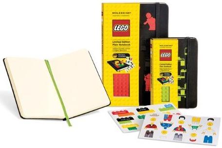 LEGO PLAIN [9X14] (LISAS) LIMITED EDITION NOTEBOOK -MOLESKINE
