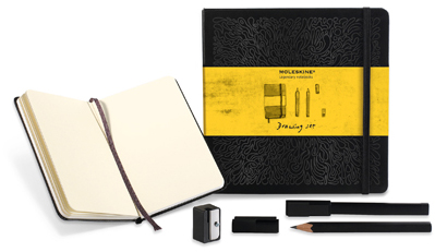 DRAWING SET [CAJA REGALO DIBUJO] -MOLESKINE