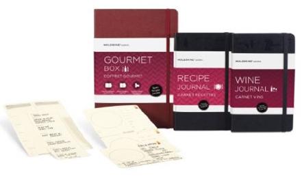 GOURMET BOX [CAJA REGALO GASTRONOMICA] -MOLESKINE PASSIONS